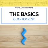 Basics of Quarter Rest for Elementary Music