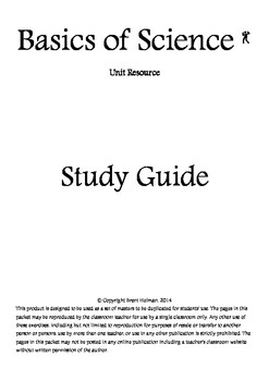 Basics of Science Study Guide
