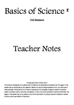Basics of Science Teacher Notes