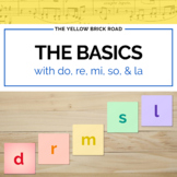 Basics of Solfége with Do, Re, Mi, So, and La