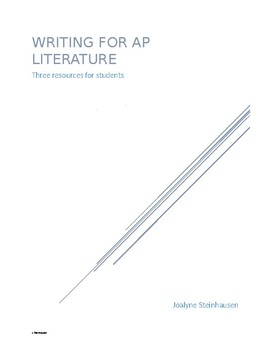 Basics of Writing for AP Literature