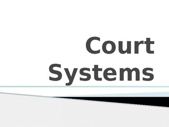 Basics on the United States Court System