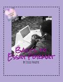 Basics to Essay Format