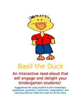 Basil the Duck, an interactive read-aloud