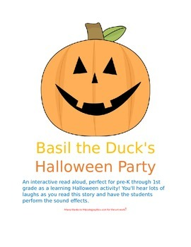 Basil the Duck's Halloween Party