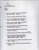 Baskeball Unit Test Key