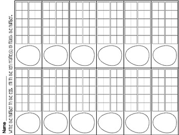 Basket Fill! Representations 1-20!
