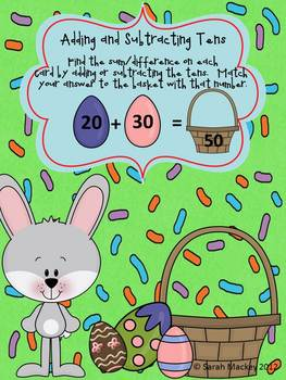 Basket Full of Eggs:  Math and Literacy Center Activities