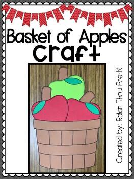 Basket of Apples Craft: Fall Craft
