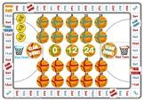 Basketball 3 and 4 Times Table Game