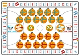 Basketball 8 and 9 Times Table Game