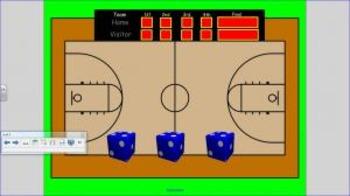 Basketball Addition Game for 2nd Grade