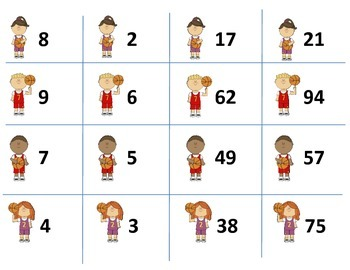 Basketball Addition and Subtraction Game (with/without regrouping)