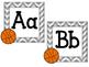 Basketball Alphabet Headers