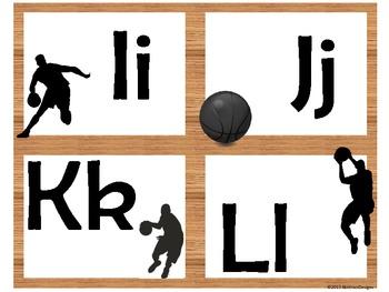 Basketball Alphabet (Word Wall Tags)