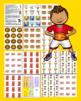 Basketball Literacy Centers: Antonyms - 60 Pairs - 120 Words