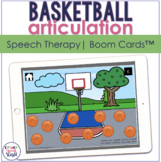 Basketball Articulation BOOM Cards™  | Speech Therapy