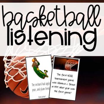 Basketball Auditory Memory