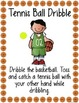 Basketball Ball Handling Station Signs