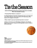 Basketball Based 4th Grade Review Questions