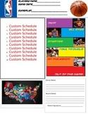 Basketball Behavior Folder Positive Behavior