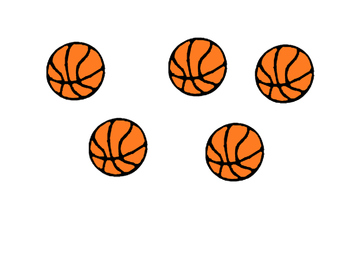 Behavior Task Card - Basketball