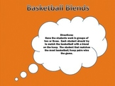 Basketball Blends File Folder Game