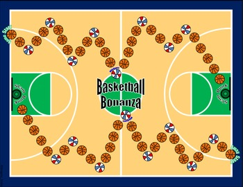 Basketball Math Skills & Learning Center (Compare & Order Decimals)