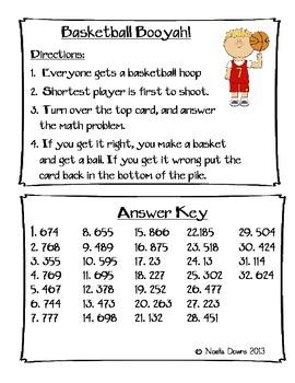 Basketball Booyah!