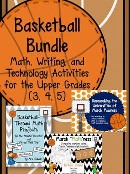 Basketball Bundle - Research, Writing, Projects, and Lots of Math