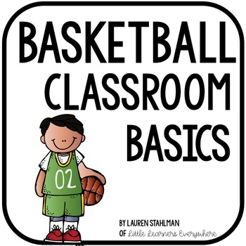 Basketball Classrom Decor