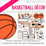 Basketball Classroom Decor Pack