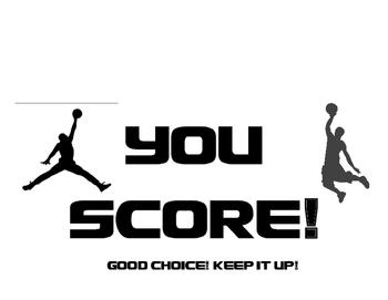 Basketball Clip Chart