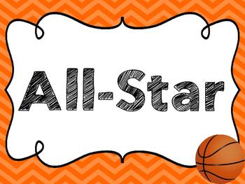 Basketball Clip Chart Freebie!