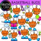 Basketball Clipart Buds {Creative Clips Clipart}