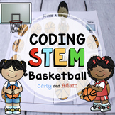 March Madness Basketball Unplugged Coding STEM Activity