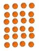 Basketball Counting:  Numbered Hoops & Basketballs