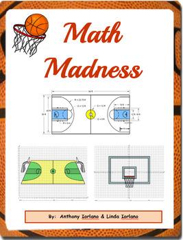 Basketball, Court, Backboard, March, Math Problems, Coordi