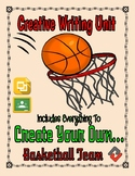 Basketball: Create a Team Project (Google Classroom)