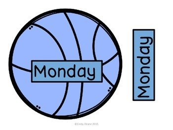 Basketball Days of the Week
