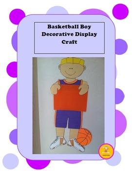 Basketball -Decorative Display/ Craft