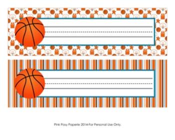 Basketball Desk Name Plates