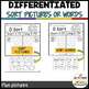 Basketball  Differentiated Madness: Print & Go Vowel Sorts (special ed)
