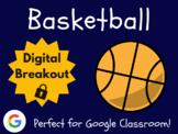 Basketball - Digital Breakout! (Escape Room, Scavenger Hunt, March Madness)