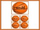Basketball Dolch Second Grade Sight Word Flashcards and Posters