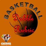 EdTPA Friendly PE Basketball Dribble Rubric!