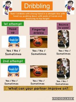 Basketball Dribbling Peer Assessment