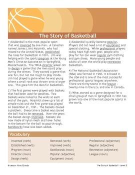 Basketball (ESL 2)