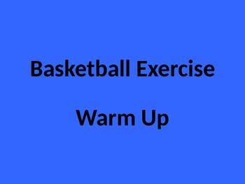 Basketball Exercise Warm Up