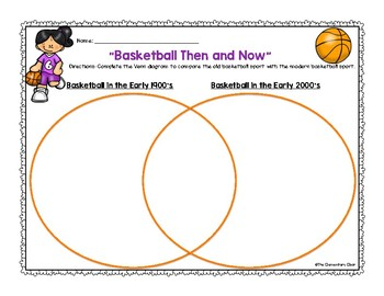 Basketball Facts Nonfiction Reading Comprehension and Questions